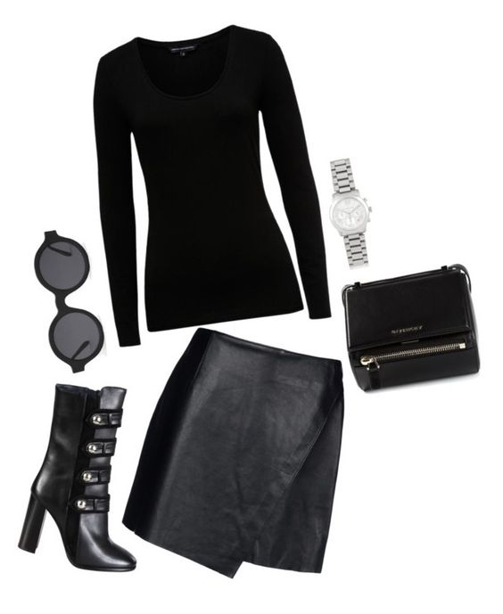 """""""Lacey"""" by slutify ❤ liked on Polyvore featuring Helmut Lang, French Connection, Isabel Marant, Illesteva, Givenchy, Michael Kors, women's clothing, women, female and woman"""