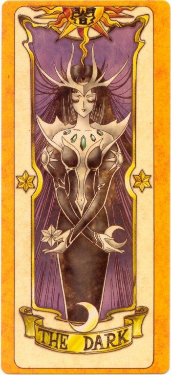 The Dark my favorite Clow Card, looks so elegant (This would be a good cosplay to do sometime)