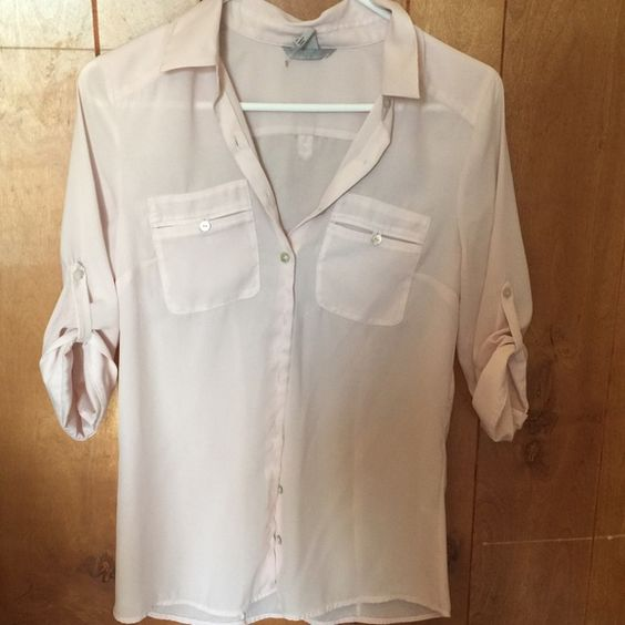 Blouse Light pink blouse from h&m H&M Tops Blouses