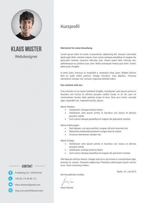 Motivationsschreiben Muster Vorlage 6 Lebenslauf Lebenslauf Design Vorlagen Lebenslauf