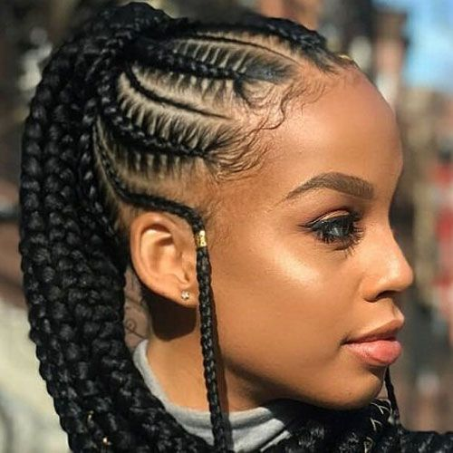 35 Best Black Braided Hairstyles For 2020 Braided Hairstyles Braids For Black Hair Braids With Extensions