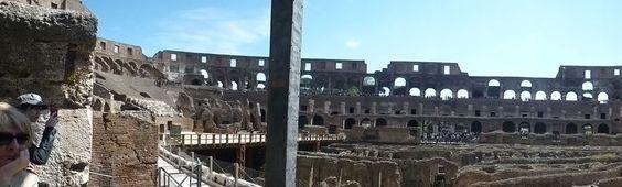 L'intérieur du Colisée - Rom