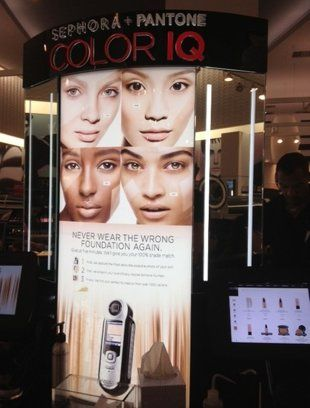 The Color IQ device at Sephora in Times Square. Photo: Joanna Douglas