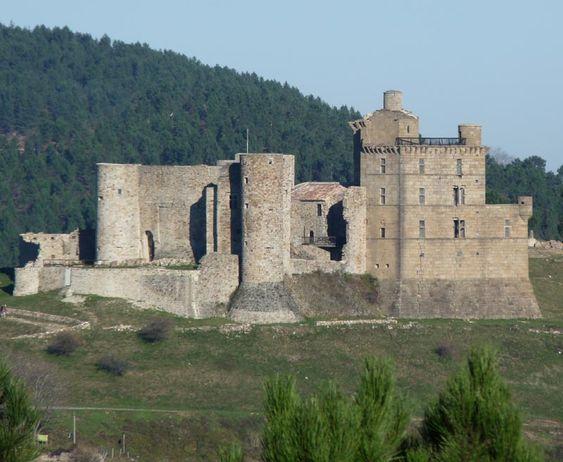 Château de Portes. Portes 30530. Languedoc. ©GB