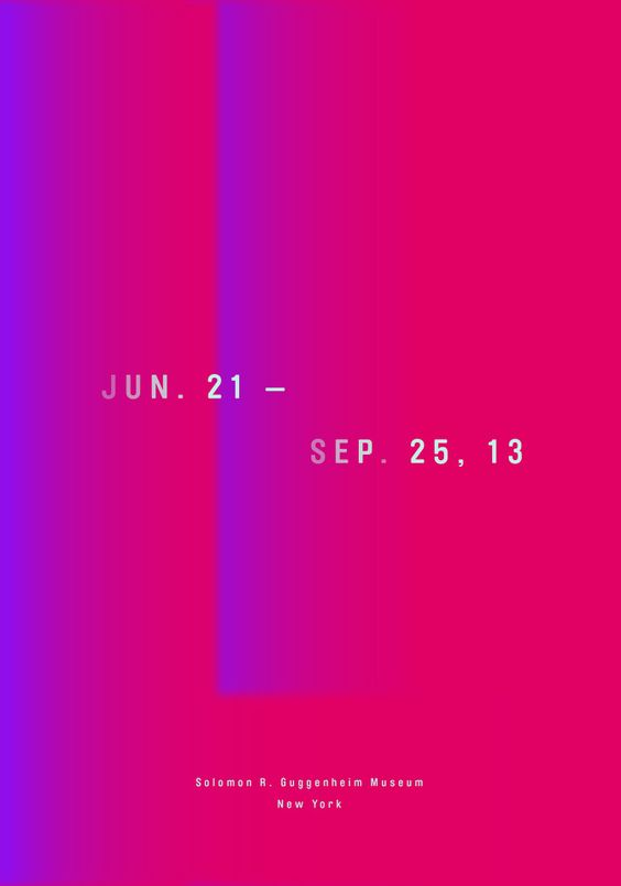 James Turrell Exhibition Poster by AHHYUNG