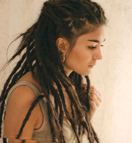 Fantastic Dreads Dread Hairstyles And Hair On Pinterest Hairstyles For Women Draintrainus