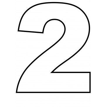Zahl 1 Vorlage Zahl 1 Zum Ausdrucken Kribbelbunt