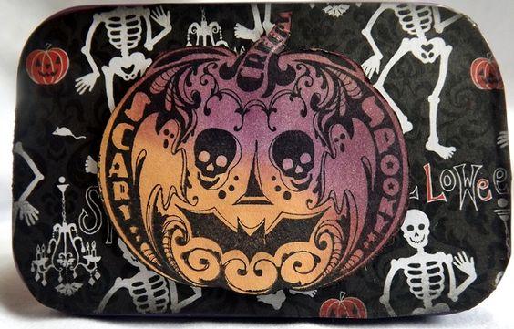 Halloween tins