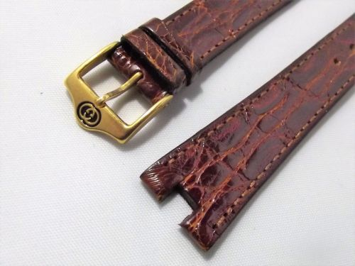 cinturino genuine leather verde  fibbia gold ansa 12//14 mm orologi forniture