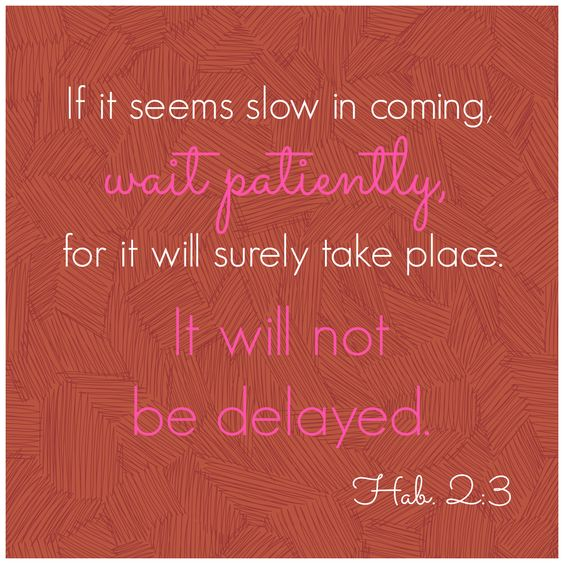 Waiting for God to act during infertility | AmateurNester.com: