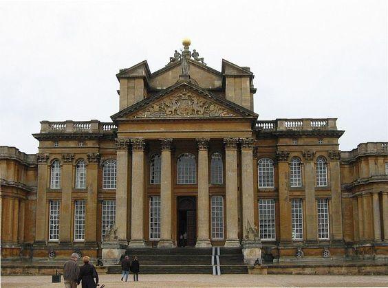36 - Palácio de Blenheim - Entrada