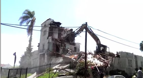 New on the L.A. Historic Preservation Hot Spots map: HCM #870 illegally demolished  http://goo.gl/maps/MhW7S  Video: https://www.youtube.com/watch?v=WESv3Z7DZIw #Koreatown