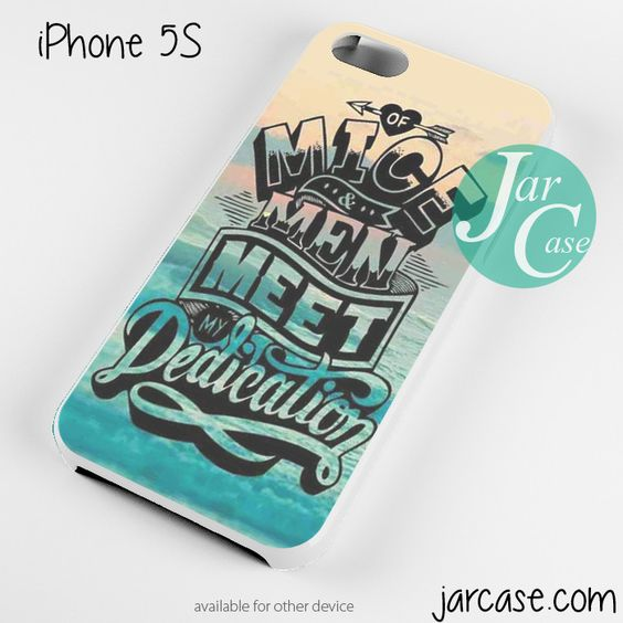 Of Mice & Men Meet Dedication Phone case for iPhone 4/4s/5/5c/5s/6/6 plus