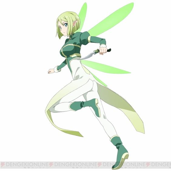Erika (ALO) (Asuna's alternative Avatar) | Sword Art ...