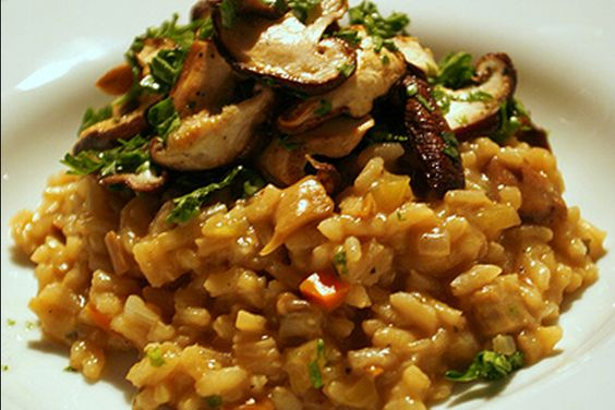 Risotto With Mushrooms | Food | Pinterest | Risotto, Mushrooms and ...
