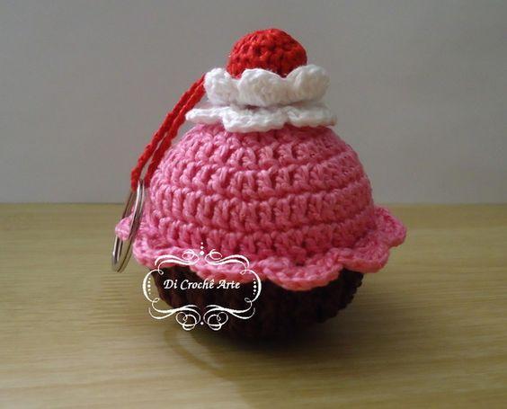 Chaveiro Cupcake 1