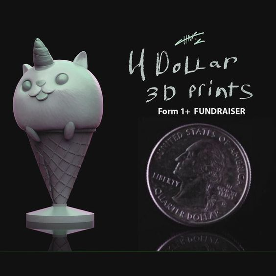 Time for a new #3Dprinter I need a more Advanced Professional 3D Printer and I am looking to get a #formlabs #formone I will be selling a ton of work I been doing this past year with @zacretz all donations will be going to the Form 1 #Zbrush #art #sculpt #sculpture #3Dprinter #3dprint #3dmodel #3dprinting @formlabs by chadwick_dusenbery