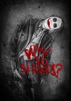 Fan art of The Joker from