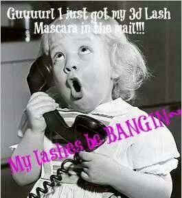 Get your lashes BANGIN with Younique's 3D Fiber Lash Mascara! $29, Get yours today at https://www.youniqueproducts.com/longerlovelylashes/party/2036728/view#beyounique #bebeautiful #3dlashes