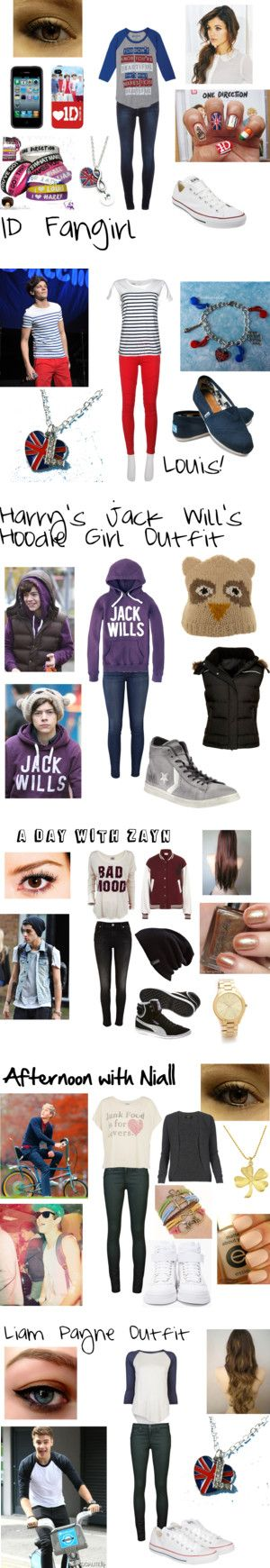 """""""One Direction Outfits!!"""" by sofianedu ❤ liked on Polyvore"""
