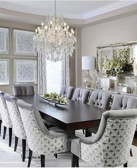Elegant Dining Room Luxury, Modern Formal Dining Room Sets
