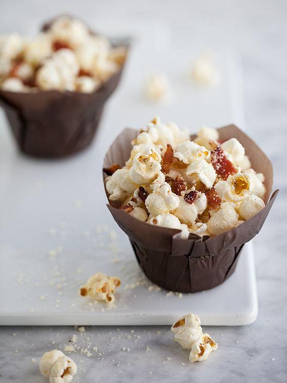 Truffled Bacon Popcorn