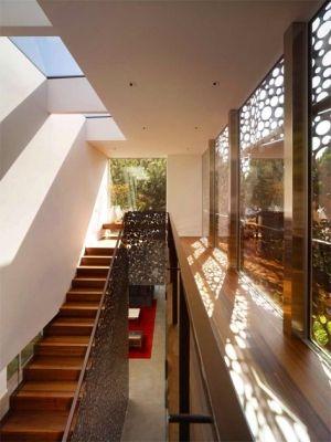 escaleras stairs diseo interior favoritos dgc muestras deco moderno casas cali casa delgada decoracin
