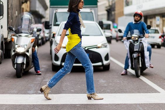 The Latest Street Style From Milan Fashion Week via @WhoWhatWear: