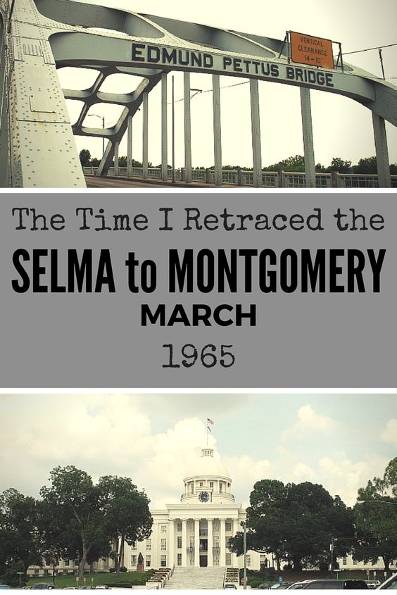 the selma montgomery march essay Selma, alabama became the focus of the civil rights movement as activists worked to register black voters demonstrators also organized a march from selma to montgomery to promote voting rights bloody sunday.