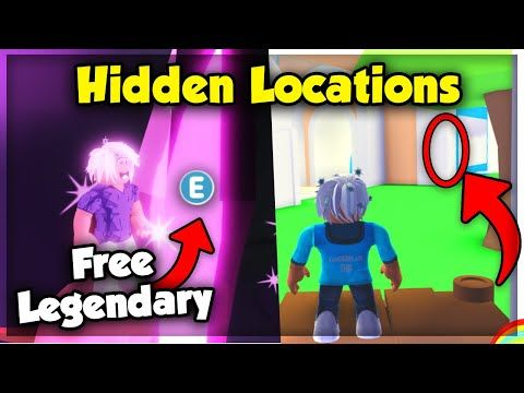 Top Secret Location For Free Legendary Neon Pets In Adopt Me Roblox Youtube In 2020 Secret Location Roblox Adoption