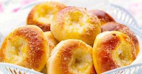 Wonderfully butter-y vanilla buns