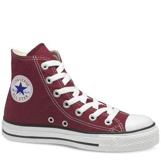 Maroon High Top Chuck Taylor Shoes : Converse Shoes   Converse.com    Ordered.