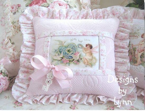 Victorian Sachet Pillows : Vintage style, Shabby chic and Style on Pinterest