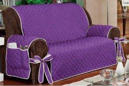 Forro de muebles manualidades pinterest - Forro para sofa ...