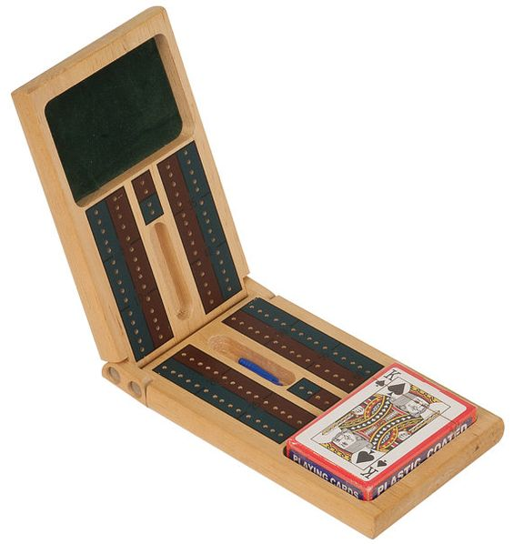 Personalized Cribbage Set Includes deck of cards and Pins - by ULEKstore, $14.95