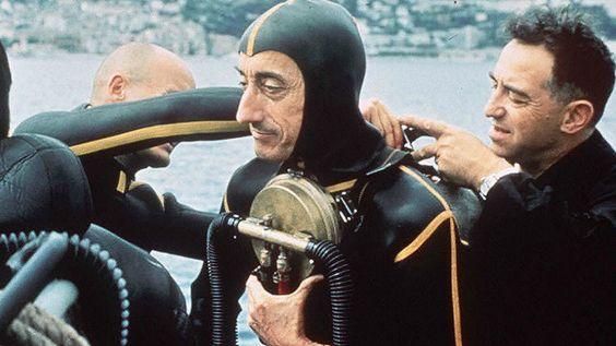 Las invenciones submarinas de Jacques Cousteau