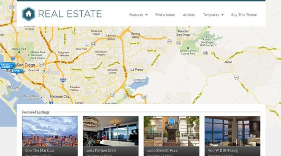 WP Pro Real Estate 3 WordPress Environmental Theme