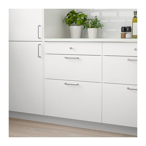 Veddinge Drawer Front White 15x10 Ikea Drawer Fronts Ikea Drawers