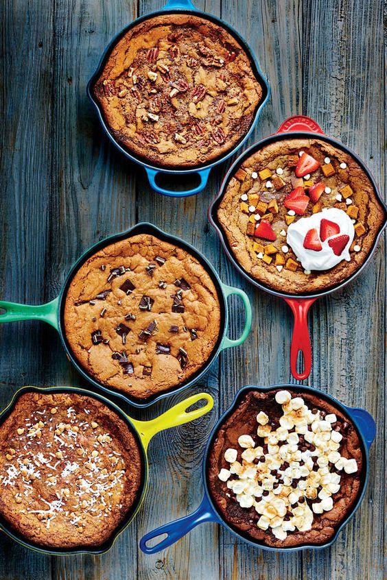 September 2016 Recipes: Deep-Dish Skillet Cookies