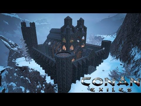 Conan Exiles Frozen Castle Cathedral Speed Build Youtube In 2020 Conan Exiles Conan Conan The Barbarian