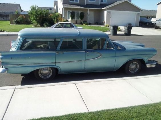 Kicked To The Curb: 1958 Edsel Villager Wagon