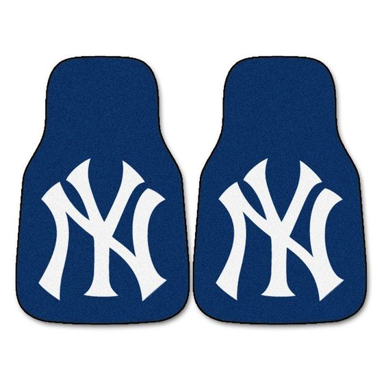 Fanmats MLB 18 x 27 in. Carpeted Car Mat - 6