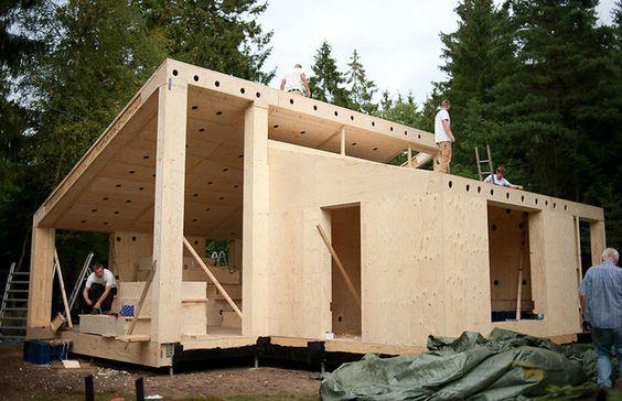 Villa Asserbo: Casa construída com base na impressão 3D de seus componentes