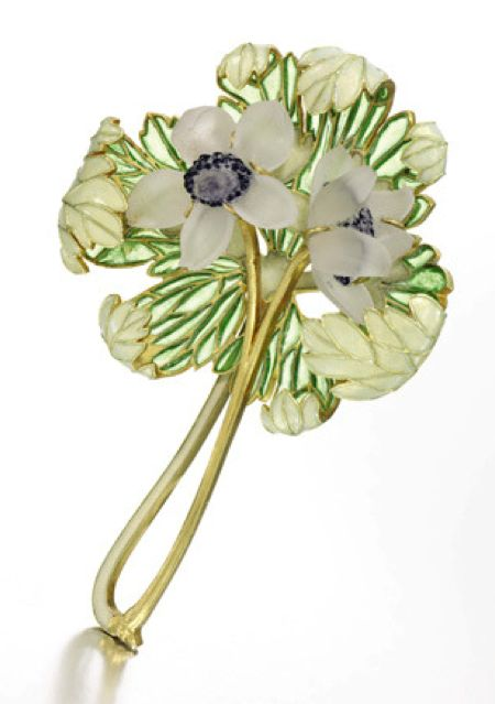 The brooch is the opposite to everything that had been made before; a total…: