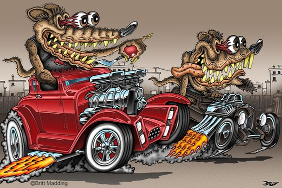 Dirty Rat Race by ~Britt8m: