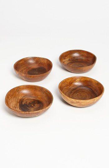Acacia Wood Bowl (Set of 4) available at #Nordstrom $40.00