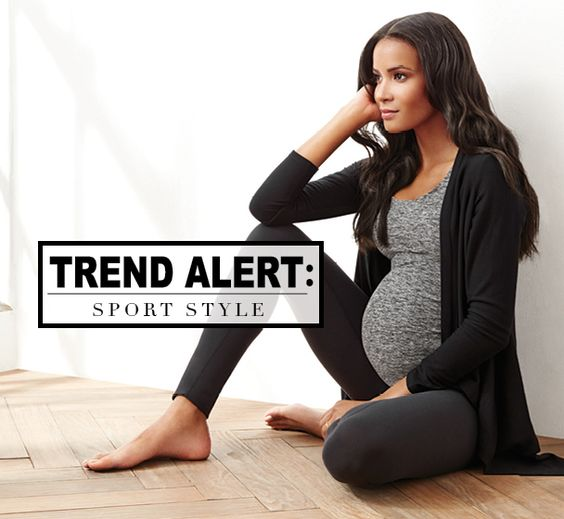 Maternity Work out gear [ NineAndAHalfMonths.com ] #fitness