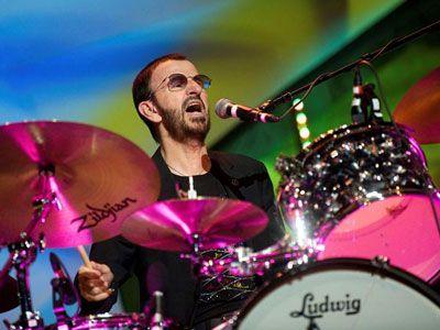 Ringo Starr, el mejor baterista que conozco y una gran persona! ♥