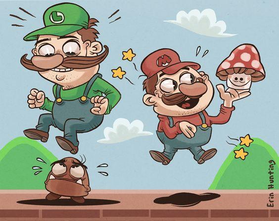 Itsa Mario by *ErinHunting