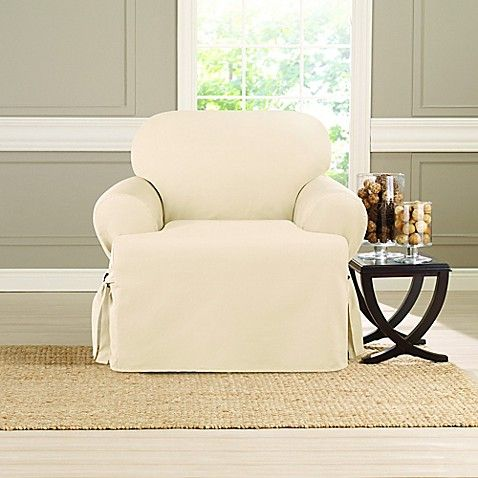 Sure Fit Heavyweight T Chair Cover Bed Bath Beyond